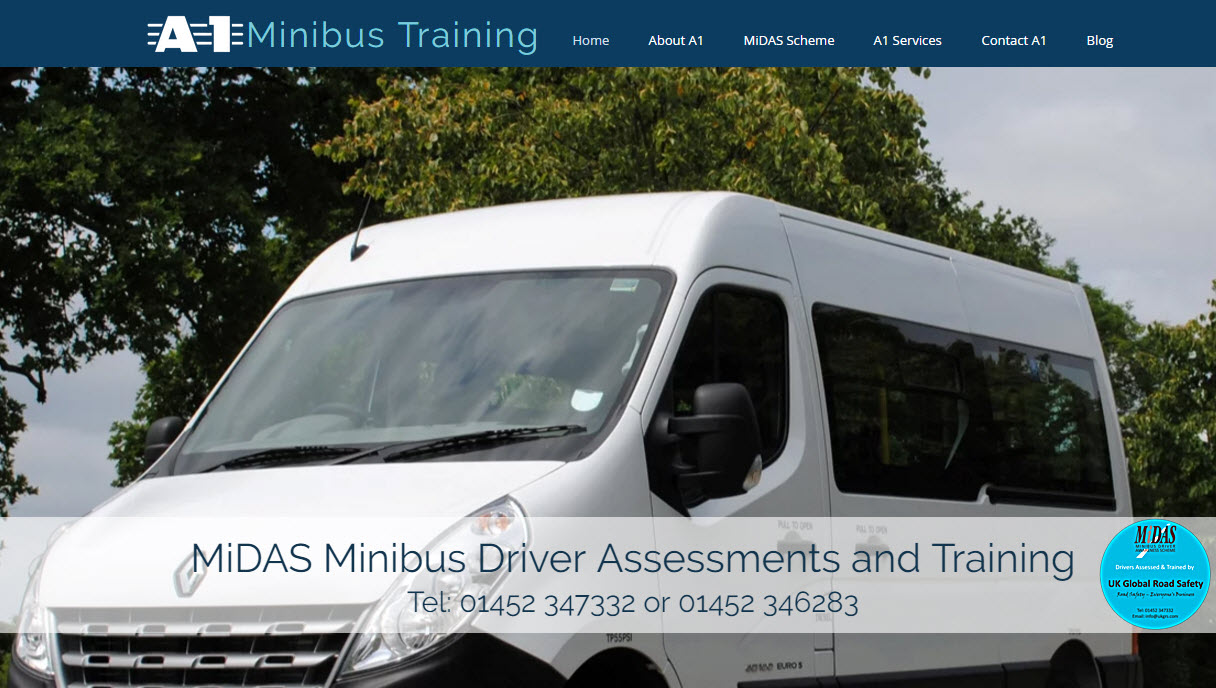 UK Global Road Safety - A1 Minibus Training, MIDAS Training