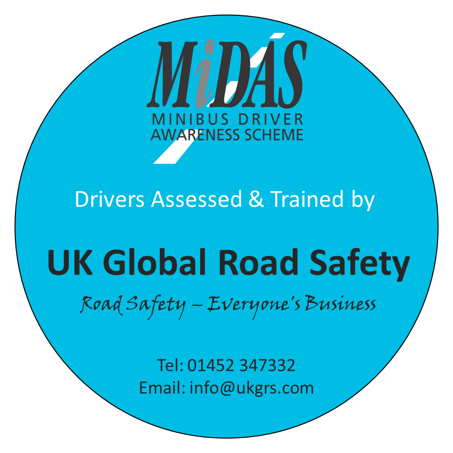 MiDAS Minibus Driver Awareness Training Scheme Southwest, UK, Northern Ireland